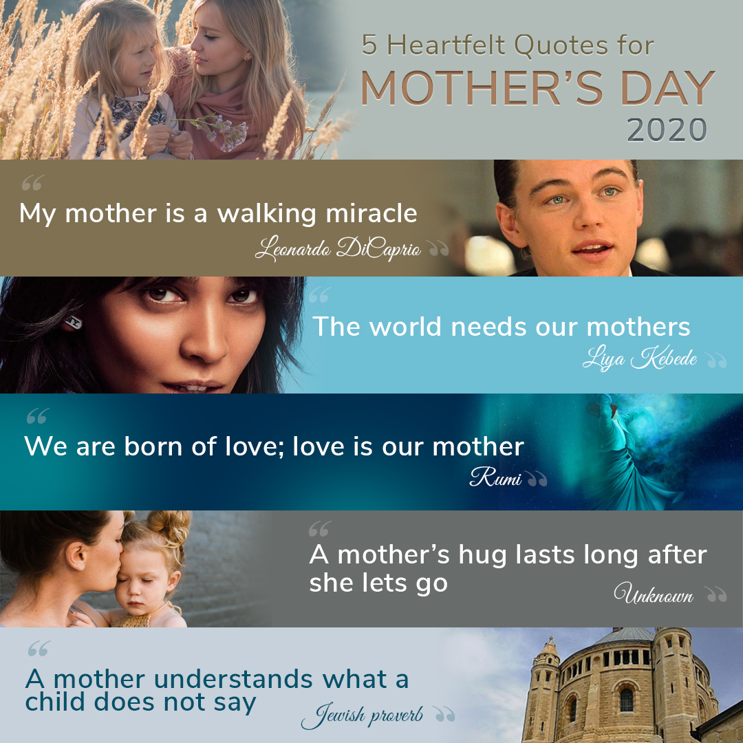 5 Heartfelt Quotes for Mother's Day 2020