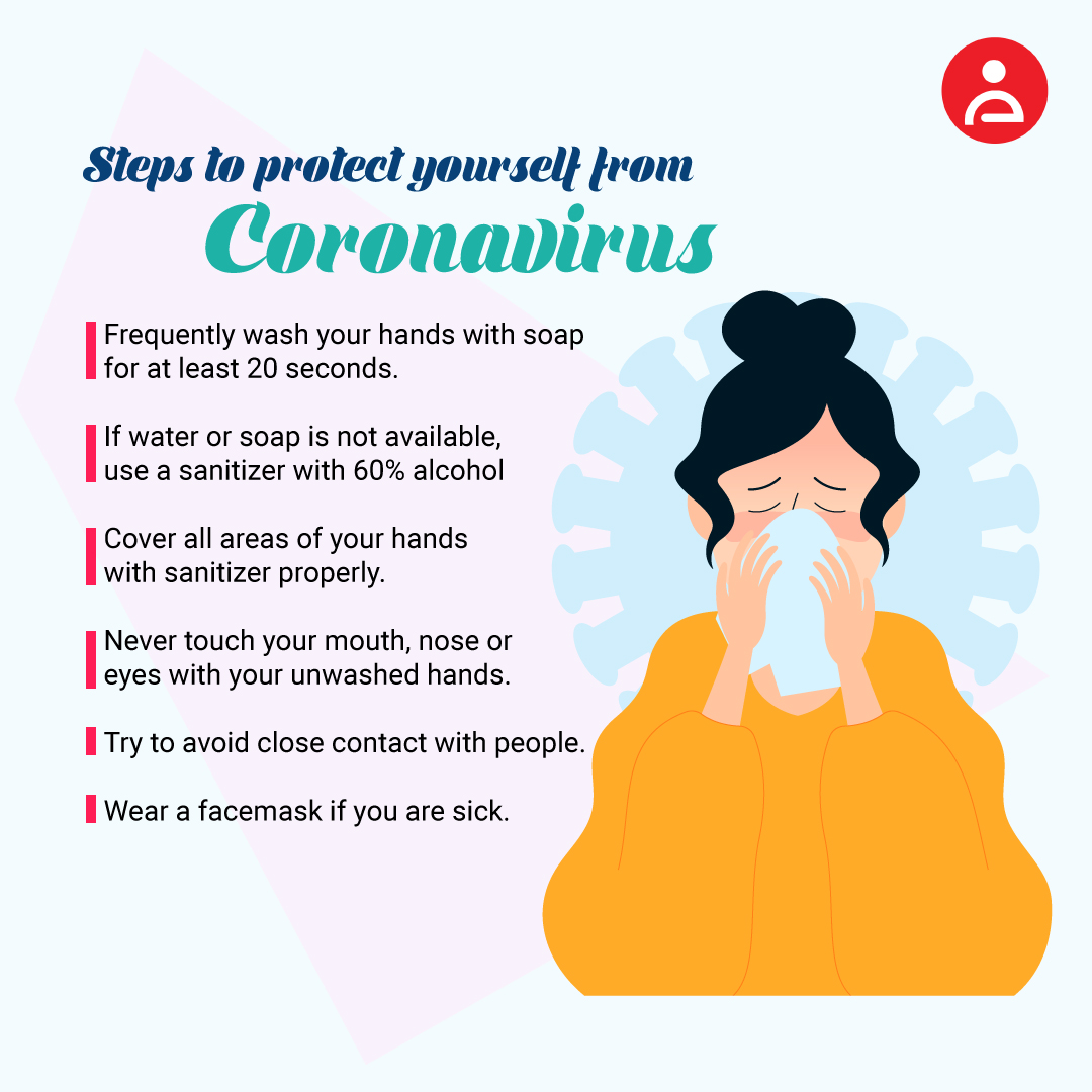 Steps to protect yourself from coronavirus